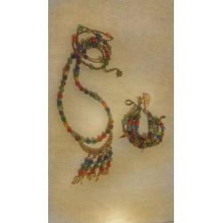 ست دستبند و گردنبند سنتی